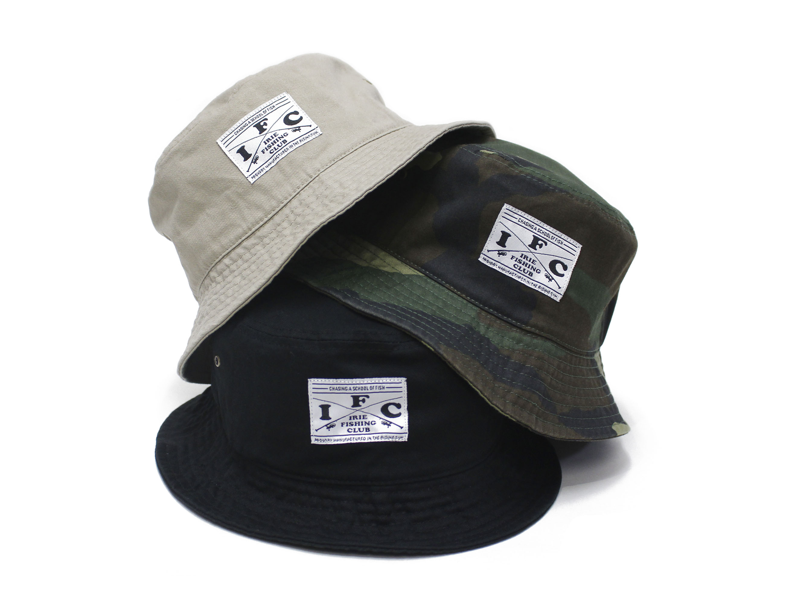 IFC BUCKET HAT - IRIE FISHING CLUB