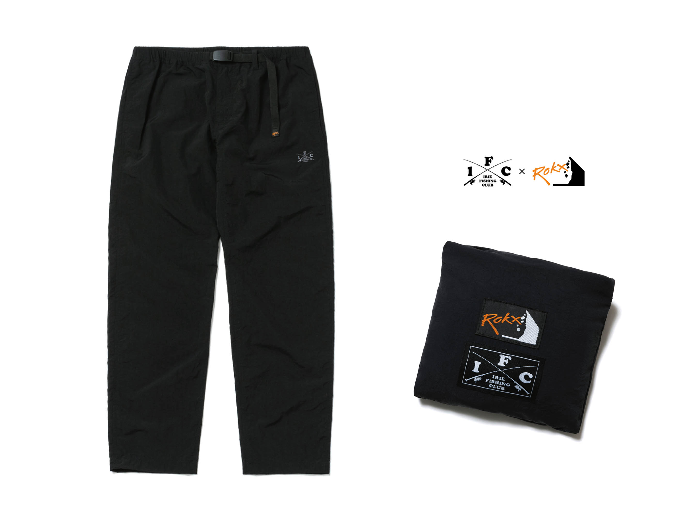 ×ROKX : CROSS ROD PACKABLE  PANTS - IRIE FISHING CLUB