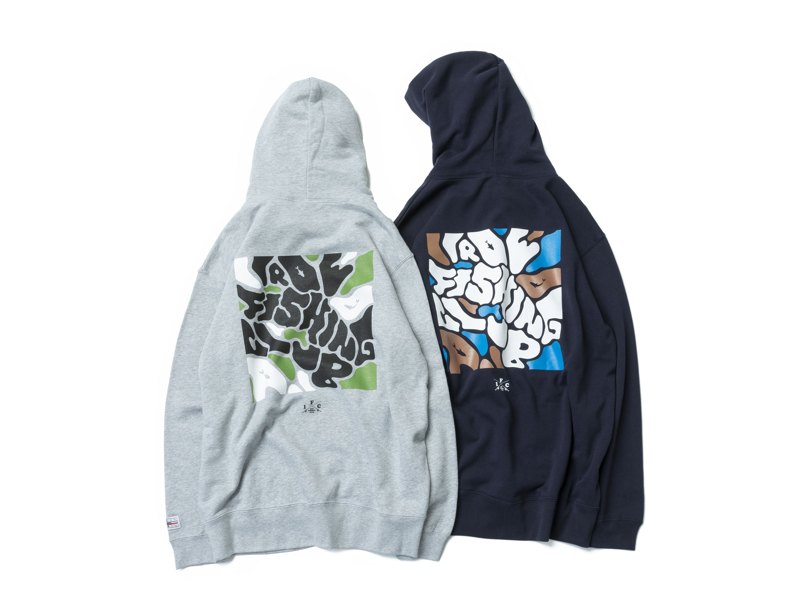 WATER CAMOUFLAGE PARKA - IRIE FISHING CLUB