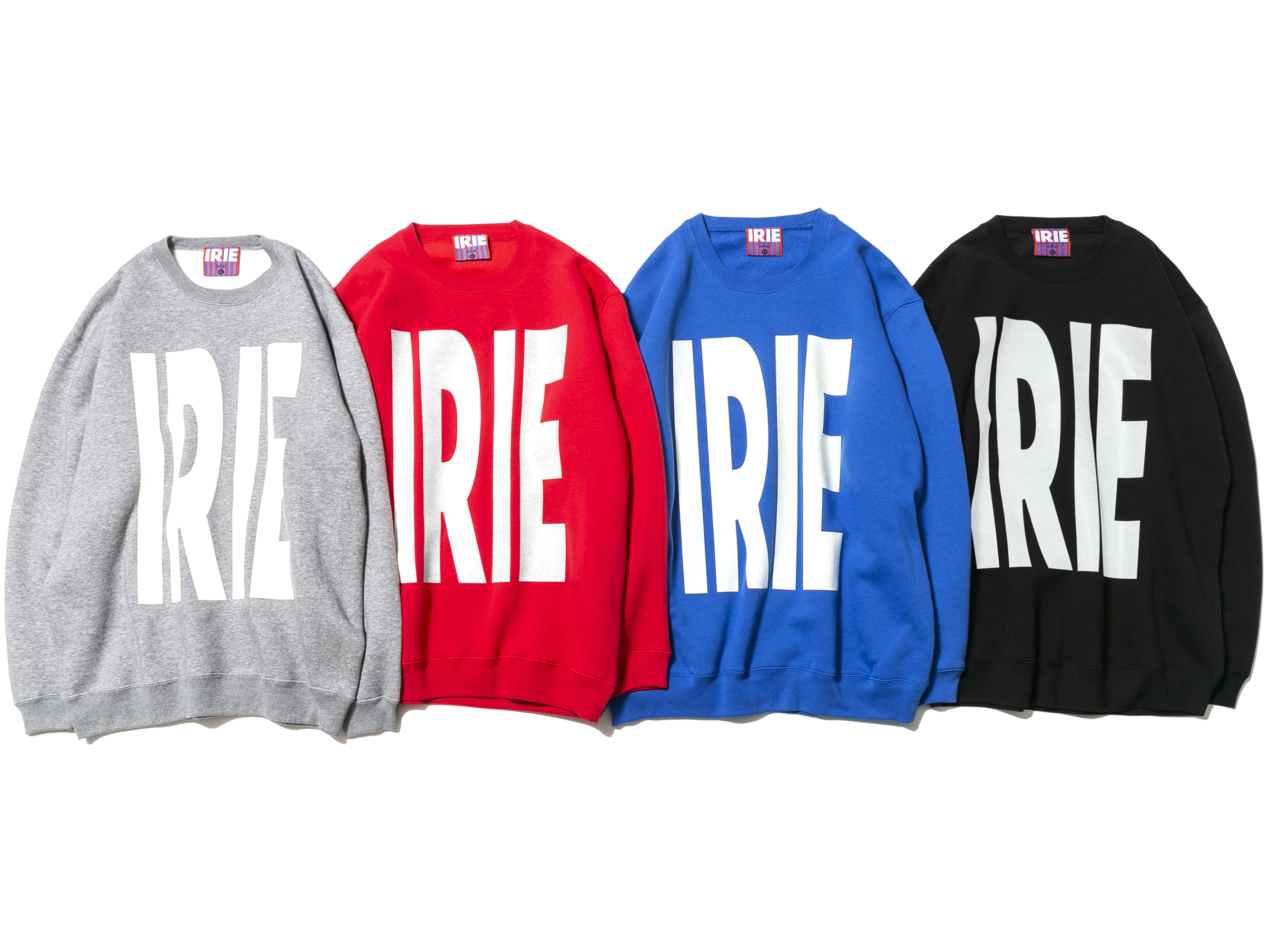 IRIE BIG LOGO CREW - IRIE by irielife