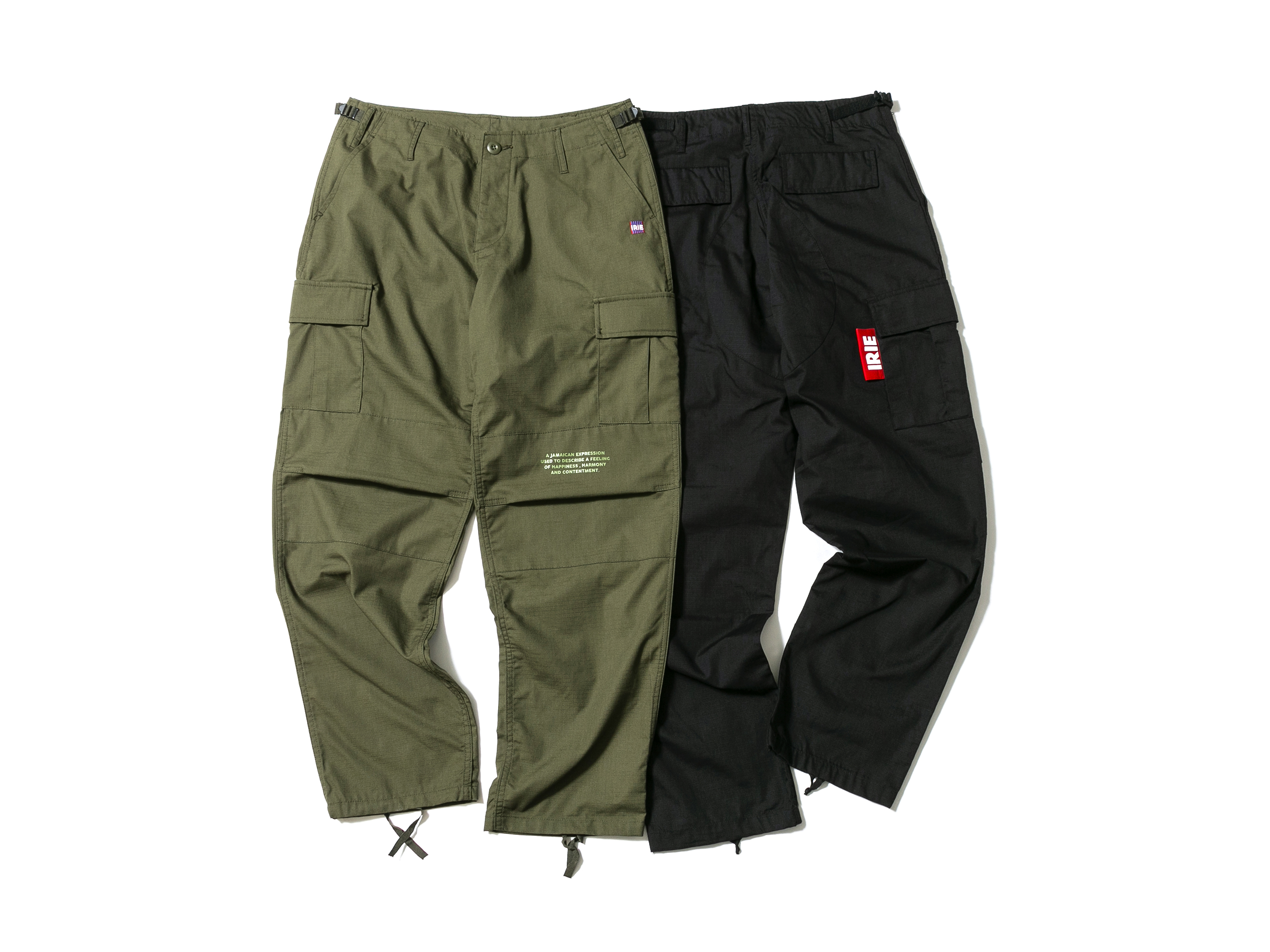 BIG TAG CARGO PANTS - IRIE by irielife