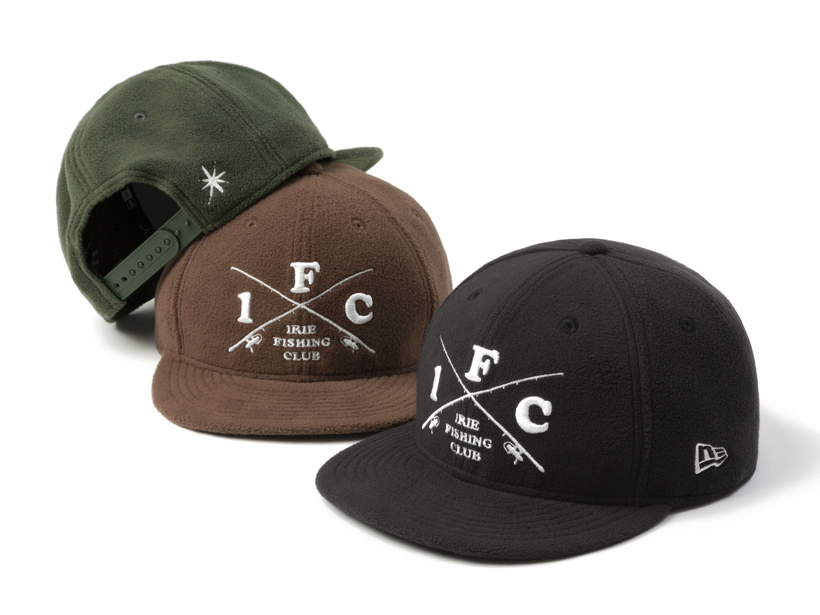 ×NEW ERA 9FIFTY CROSS ROD MICRO FLEECE CAP - IRIE FISHING CLUB