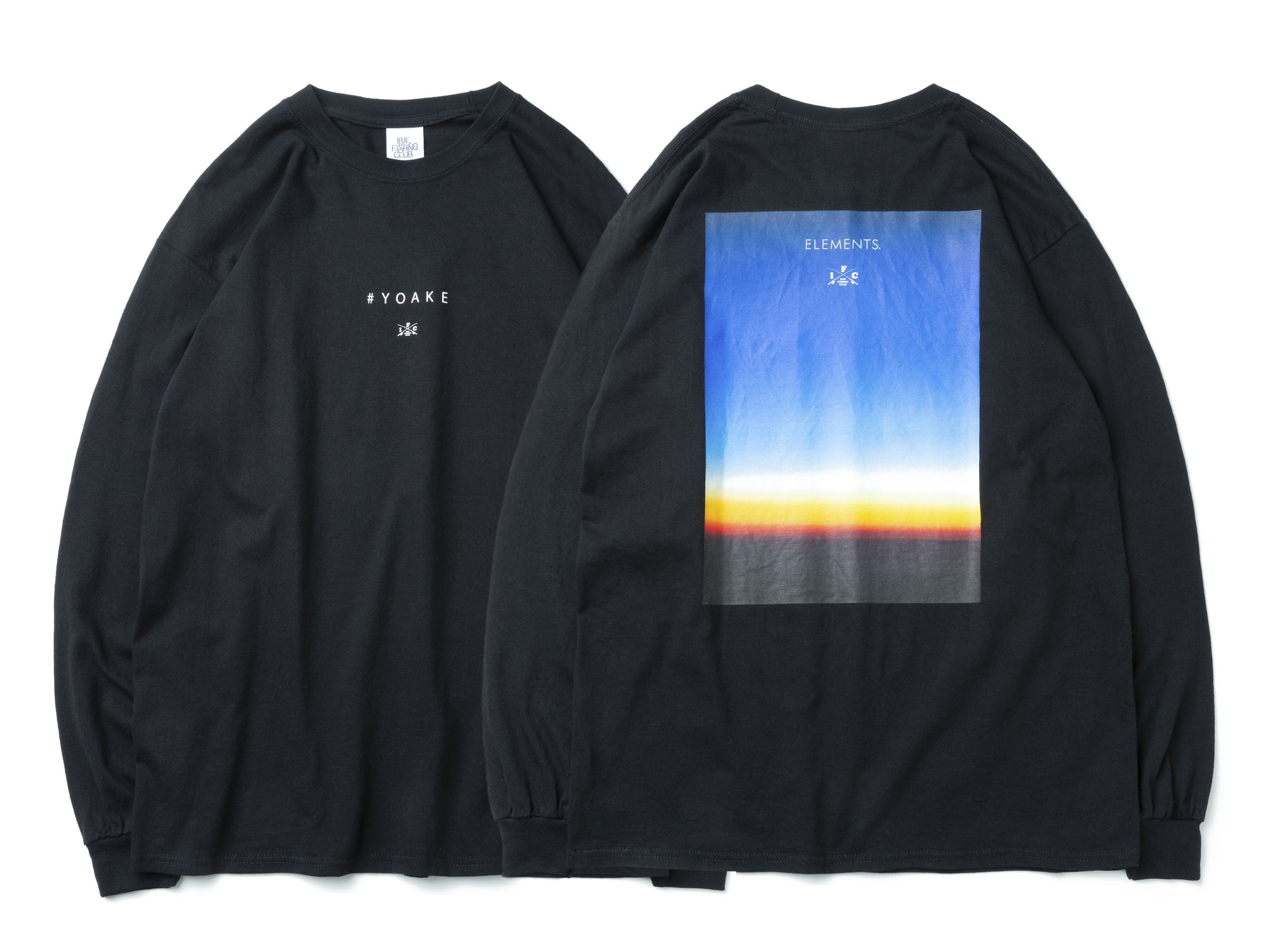 ×ELEMENTS YOAKE PHOTO L/S TEE - IRIE FISHING CLUB