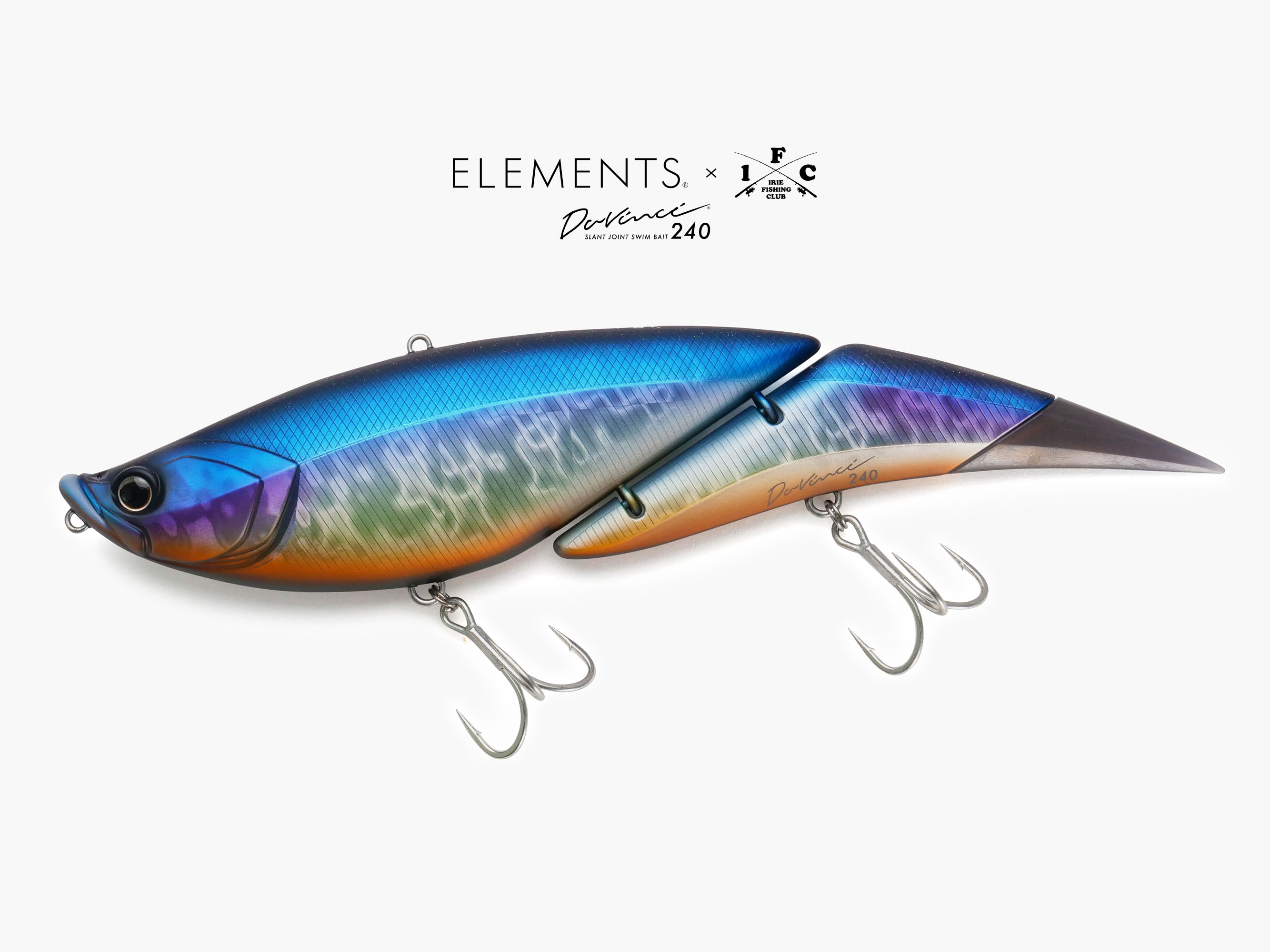 "×ELEMENTS Davinci 240 ""YOAKE"" - IRIE FISHING CLUB"